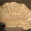 trap met planken