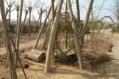 Wilgentenen-hut-maken